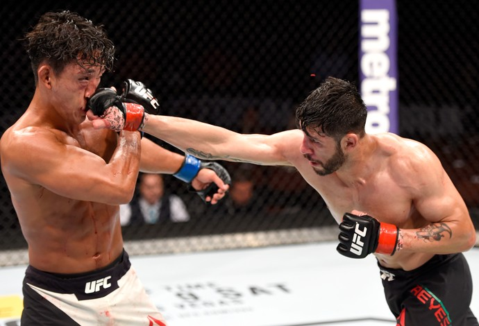 Polo Reyes Dong Hyun Kim UFC 199 (Foto: Getty Images)