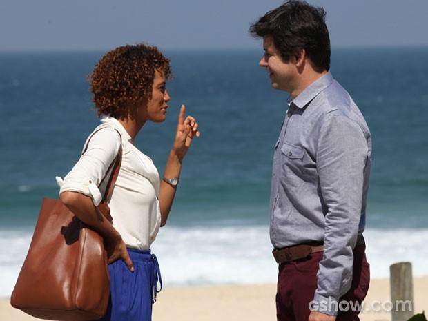 Qual será o futuro de Verônica e Jonas? (Foto: Carol Caminha/TV Globo)