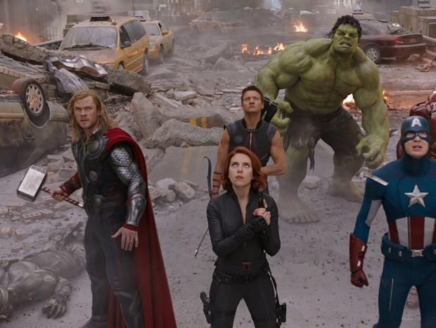 Cena dos Vingadores (Foto: reprodução)