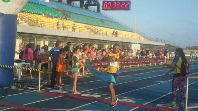 Antônio Reginaldo ficou em 4º lugar na corrida Porta do Sol (Foto: Reprodução/Facebook)