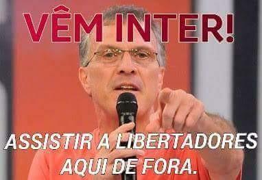 Corneta Inter Tigres Libertadores Pedro Bial (Foto: Reprodução/Twitter)