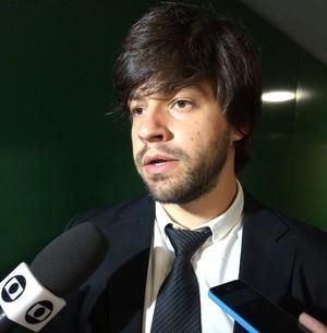 Ricardo Borges Martins, consultor do Bom Senso FC (Foto: Fabrício Marques)