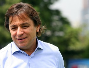 Arnaldo Tirone, presidente do Palmeiras (Foto: Anderson Rodrigues / globoesporte.com)