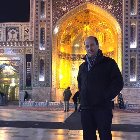 Marcos Uchôa no Irã (Foto: Divulgação)