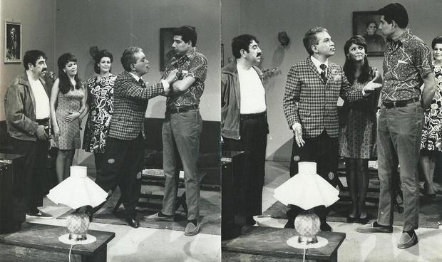 Rubén Aguirre no início da carreira de ator (Foto: Reprodução/Twitter)