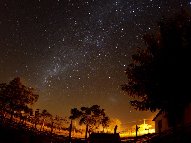 Meteoro, Fortaleza, Gêmeos (Foto: João Paulo/VC no G1/CE)