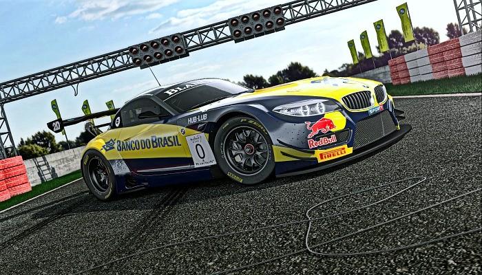BMW Z4 do BMW Team Brasil