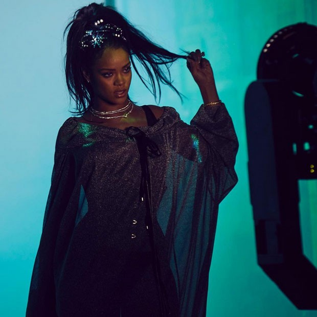 Rihanna grava clipe da música This is what you came for (Foto: Instagram/ Reprodução)