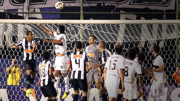 Pittoni gol Olimpia decisão Atlético-MG Libertadores 2 (Foto: Reuters)