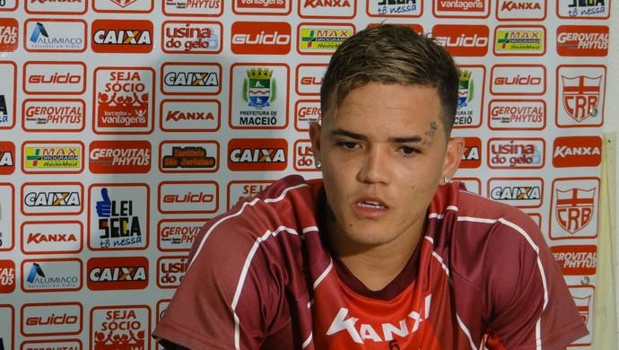 Willian Cordeiro, CRB (Foto: Denison Roma / GloboEsporte.com)