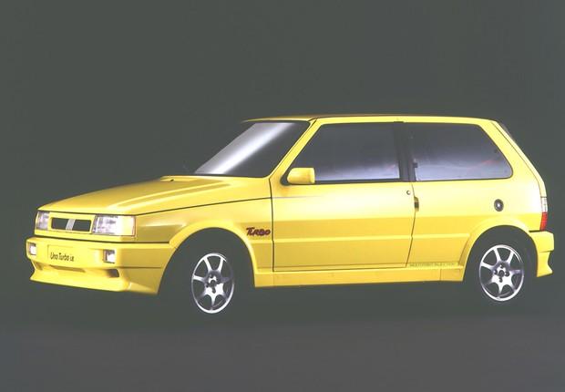 Cl 225 Ssico Do Dia Fiat Uno Turbo I E Auto Esporte