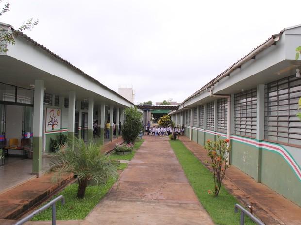 Escola Municipal Criança Feliz, de Marechal Cândido Rondon, conta atualmente com 410 alunos; com a implantação do sistema de energia solar, objetivo é 'zerar' a conta de luz (Foto: Prefeitura de Marechal Cândido Rondon / Divulgação)