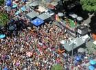 FOTOS: blocos de carnaval no Rio neste domingo (23) (Alexandre Durão/G1)