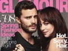 Jamie Dornan e Dakota Johnson falam a revista sobre cenas de sexo