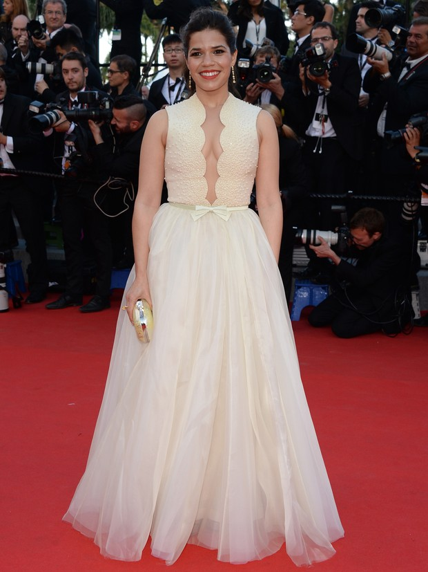 America Ferrera no Festival de Cannes (Foto: Getty Images)