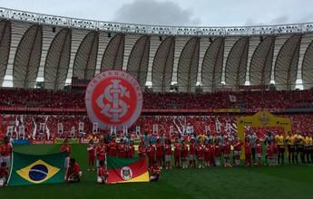 Torcida esgota ingressos para Gre-Nal, e Inter espera 40 mil no Beira-Rio