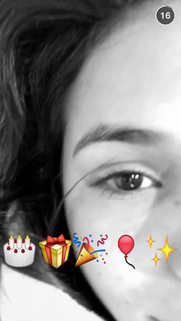 Bruna Marquezine (Foto: Reprodução / Snapchat)