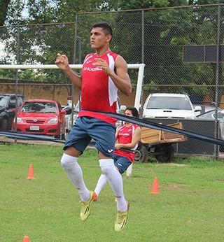 Cristian Colmán Nacional do Paraguai São Paulo (Foto: Divulgação Nacional)