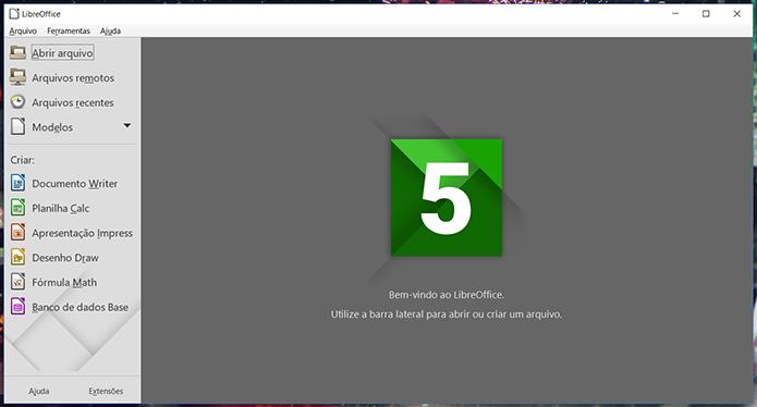 LibreOffice é mais completo (Foto: Reprodução/Filipe Garrett)