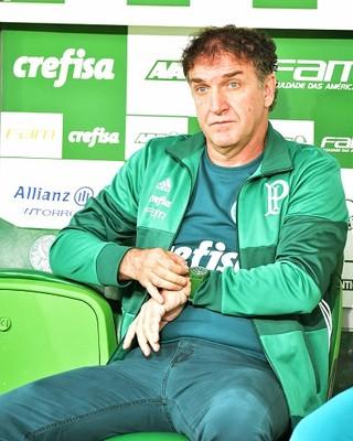 Cuca Palmeiras Santos (Foto: Marcos Ribolli)