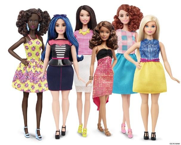 Coleção Barbie Fashionista (Foto: Divulgação)