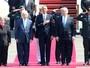 'Mudou a história', diz Obama; veja repercussão ( AFP PHOTO / JACK GUEZ)