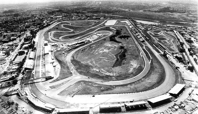Autódromo de Interlagos  1990 (Foto: Agência estado)