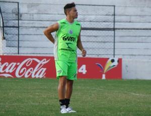 Danilo Lins atacante Central (Foto: André Vinícius / GloboEsporte.com)
