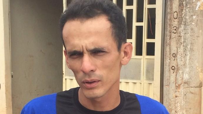 Charles Amâncio, motorista do Formosa (Foto: Fabrício Marques)