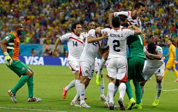 Navas Costa Rica x Grécia (Foto: AP)