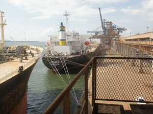 Porto de Paranaguá (Foto: Bibiana Dionísio/ G1 PR)