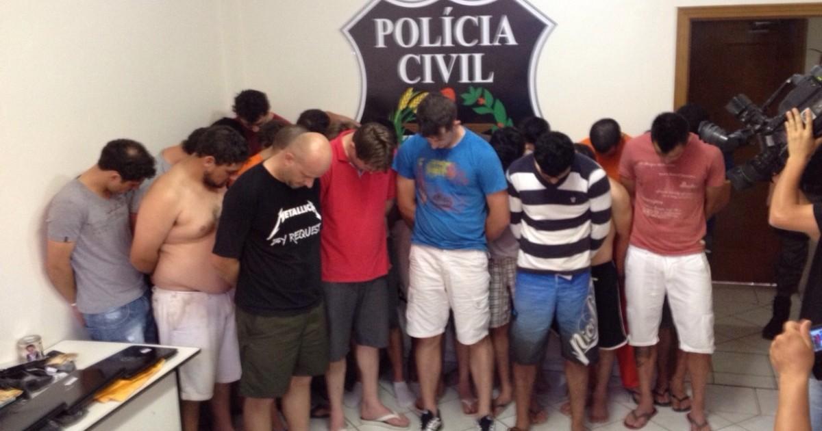 'Operação Ostentação' prende 23 pessoas por tráfico em SC e no PR - Globo.com
