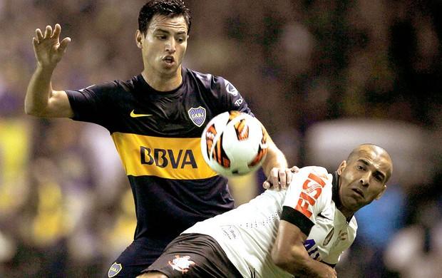 Emerson jogo Corinthians Boca Juniors (Foto: Reuters)