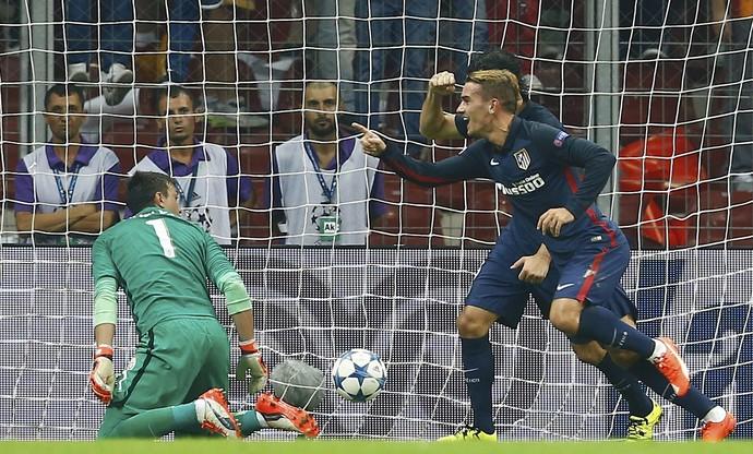 Griezmann Atlético de Madrid Galatasaray (Foto: Reuters)