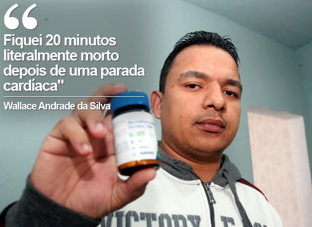 Homem sofre de doença que causa 'morte súbita' (Foto: Jomar Bellini/G1)