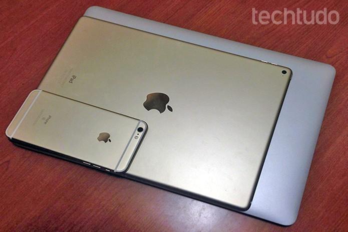 Supostos iPads em tamanhos menores podem estar a caminho (Foto: Thiago Barros/TechTudo)