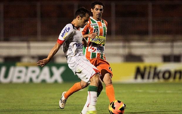 Correa jogo Portuguesa Naviraiense (Foto: Ale Cabral / Futura Press)