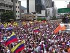 Venezuela tem um milhão nas ruas em protesto contra Maduro