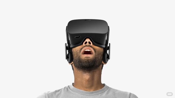 Oculus Rift tem design super confortável (Foto: Divulgação/Oculus VR)