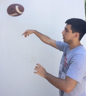 Matheus Sixel vai acompanhar a final no Tocantins (Foto: Arquivo Pessoal)