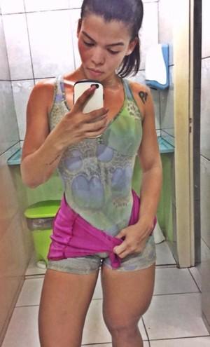 Josmary Pontes - Candidata ao Musa Fitness 2016 (Foto: Imagem/Arquivo Pessoal)