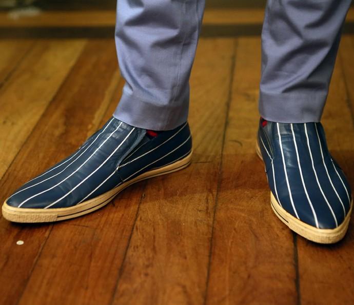 Sapato do Rogério Flausino (Foto: Isabella Pinheiro / Gshow)