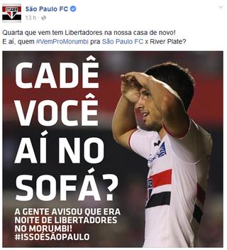 print são paulo facebook (Foto: Reprodução)