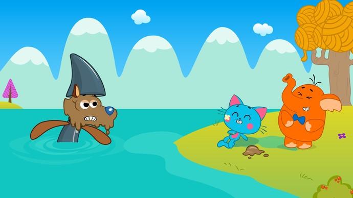 'As Aventuras de Miau' faz releitura do conto Os Três Porquinhos (Foto: TV Bahia)