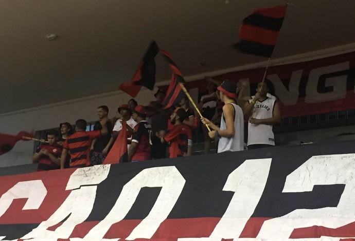 Flamengo x Botafogo; Estadual; basquete (Foto: Matheus Palmieri)