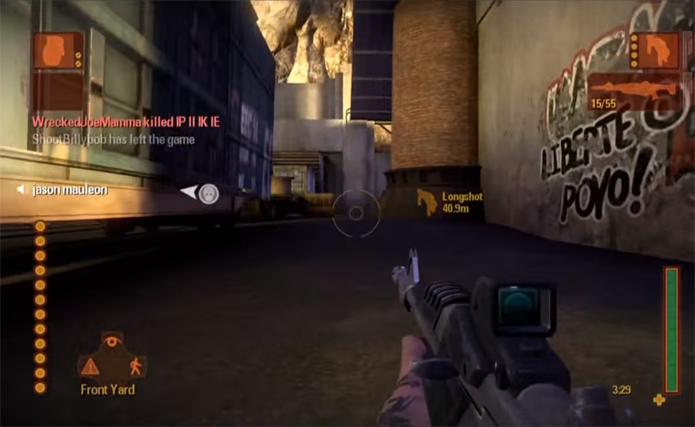 Exclusivo do Xbox 360 e do PC, Shadowrun tem mapas ambientados na Santos de 2031 (Foto: Reprodução/YouTube)