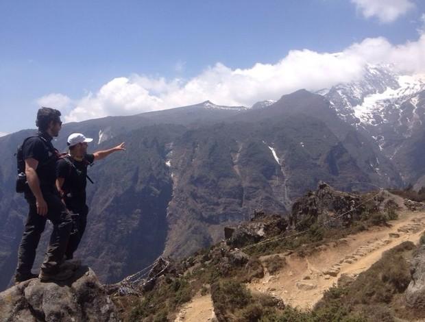 bernardo fonseca na montanha (Foto: arquivo pessoal)
