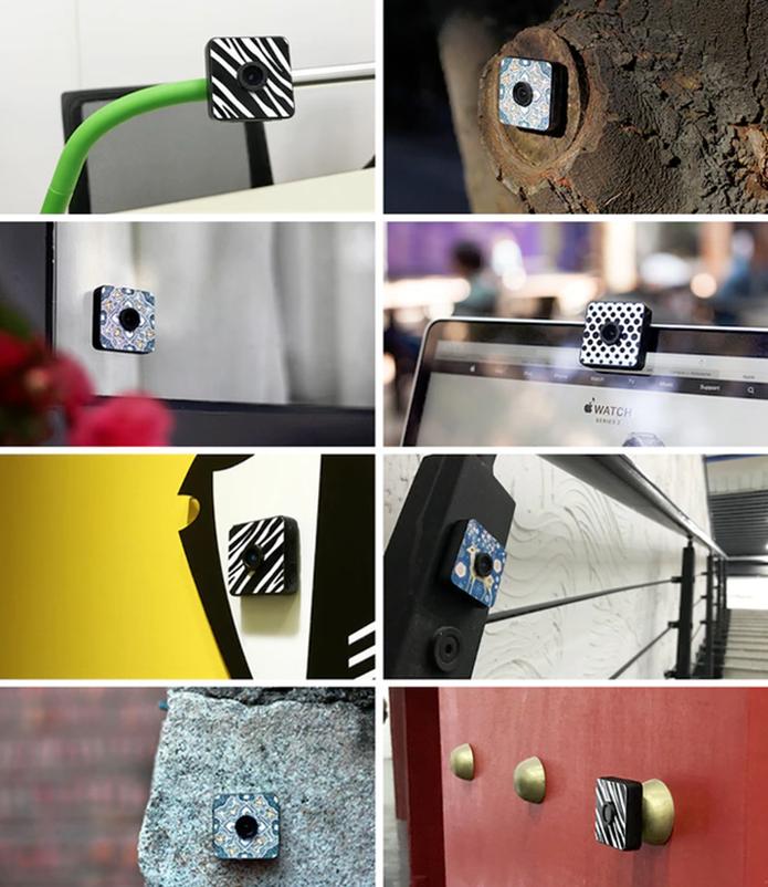 A Foxshot pode grudar em diversas superfícies (Foto: Divulgação/Kickstarter)