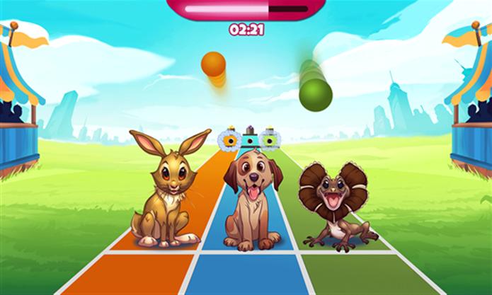 Pet Show é um game em que animais devem ser treinados para divertidas competições (Foto: Divulgação/Windows Phone Store)