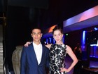 Sophia Abrahão arrasa no look em baile de gala com Sergio Malheiros